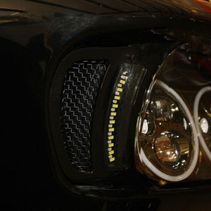 Fat Head Cycles Harley-Davidson Custom Lighting Dynamic LED Vent Inserts For 2015-2020 Road Glide Motorcycles
