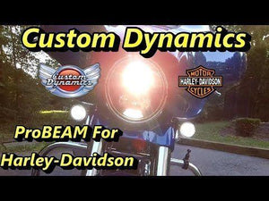 "Fat Head Cycles Harley-Davidson Custom Lighting ProBEAM® 7"" LED Plug & Play Headlamp For Harley-Davidson® 