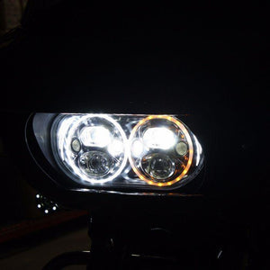 Fat Head Cycles Harley-Davidson Custom Lighting TruBEAM® LED Headlamp for 2015-2020 Road Glide Models