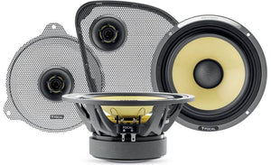 Fat Head Cycles Harley Focal Amplifier and Kevlar Speaker Bundle
