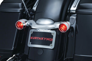 Fat Head Cycles KURYAKYN CURVED LICENSE PLATE MOUNT
