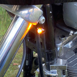 Fat Head Cycles Micro Bullet dual Color LED Turn Signals