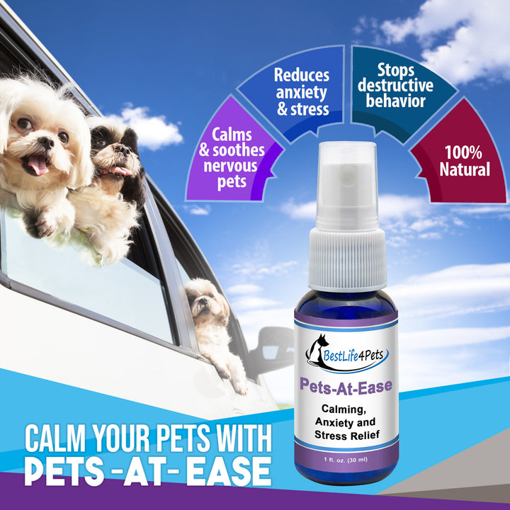 Pets-At-Ease Calming and Stress Relief Spray