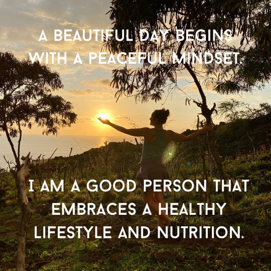 Healthy mindset and nutrition