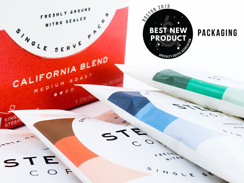 Steeped S-110 Guilt Free Packaging