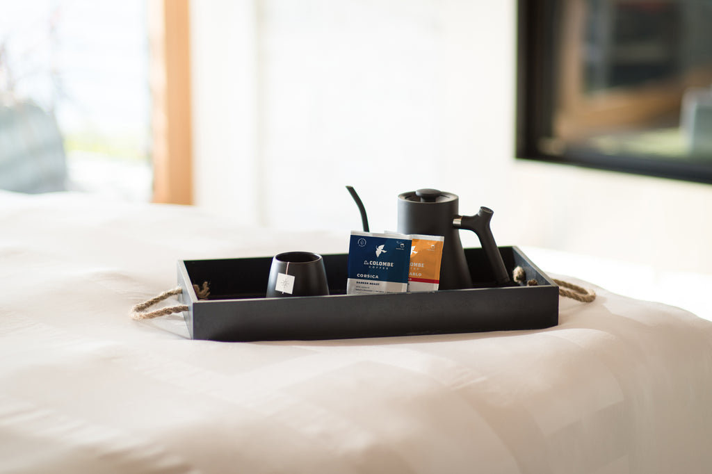 La Colombe Steeped Coffee In-Room at Hotels