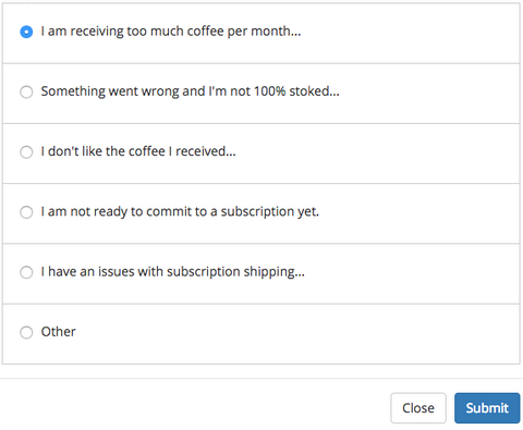 Cancel Subscription Questions
