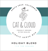 Kickstarter: Cat & Cloud Holiday Blend (30 Packs)