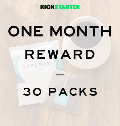 Kickstarter: One Month Supply (30 Packs)