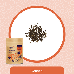 Obie's Crunch - Dried Ground BSFL