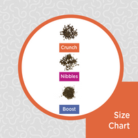 Obie's Dried Ground BSFL Sizes