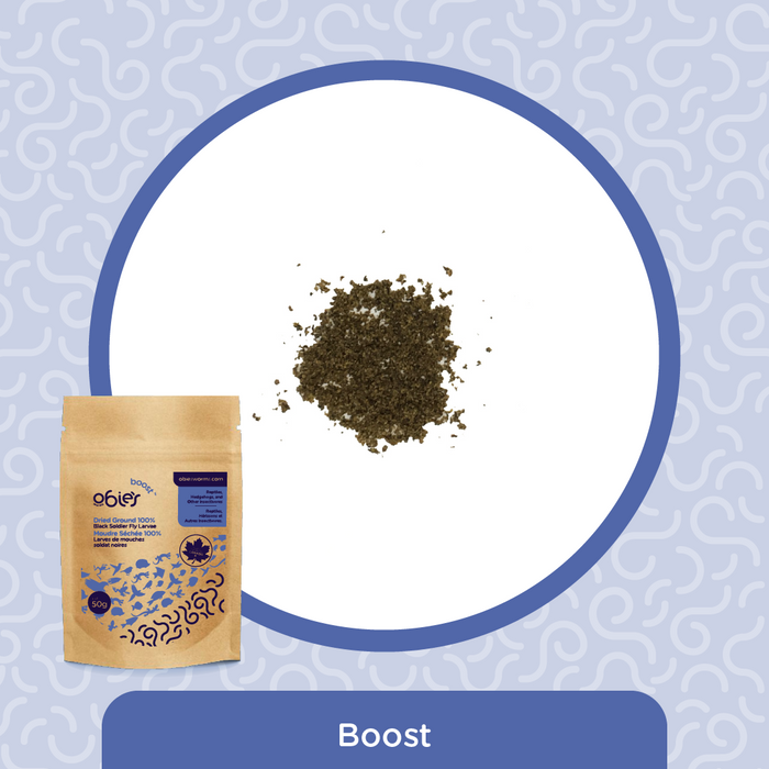 Obie's Boost (50g) - Fine Ground BSFL