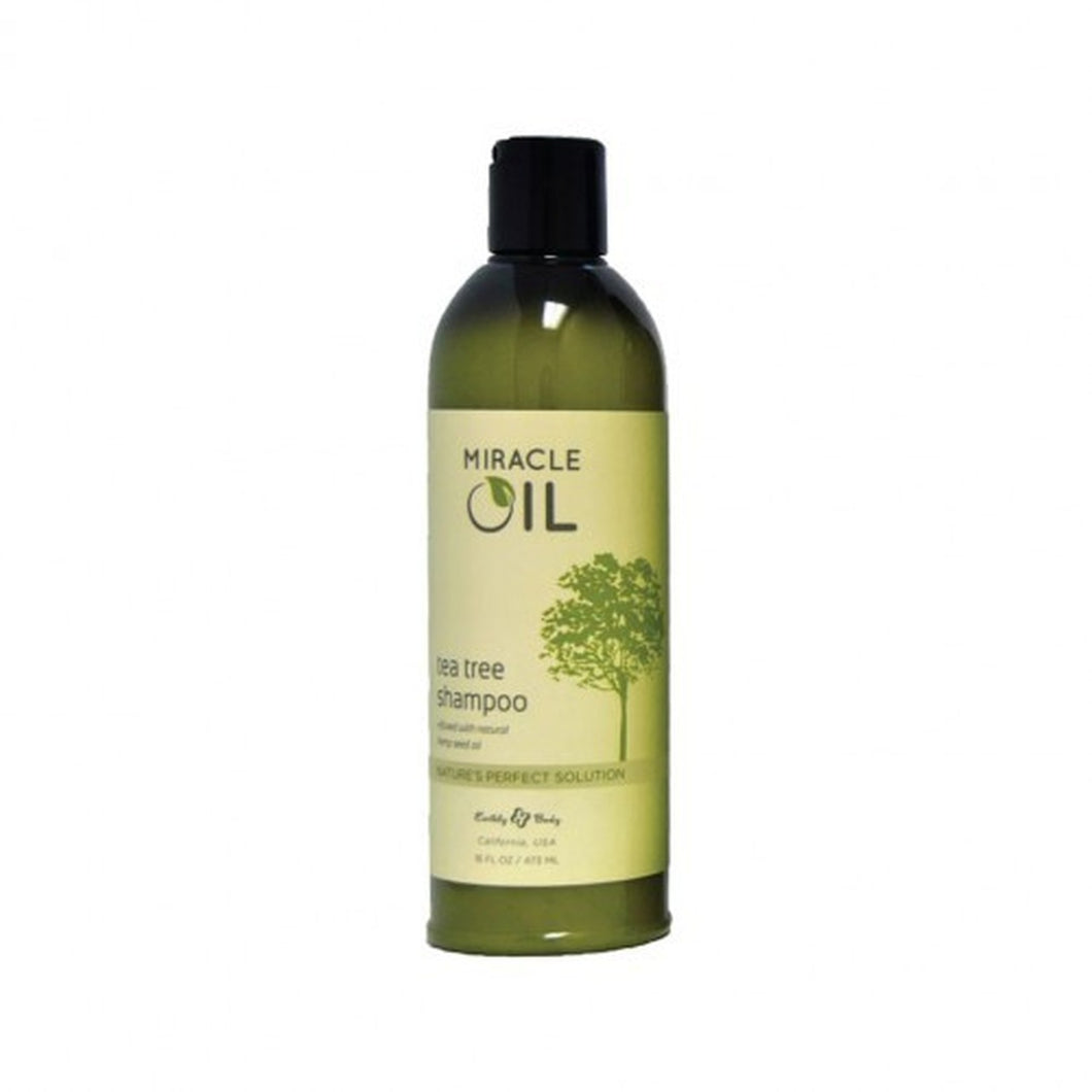 Earthly Body Miracle Oil - Tea Tree Shampoo 16 oz.