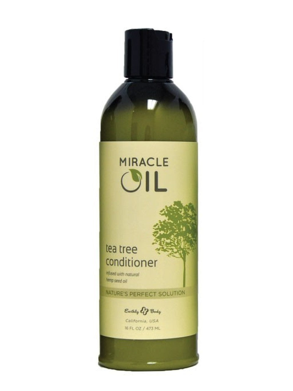 Earthly Body Miracle Oil - Tea Tree Conditioner 16 oz.