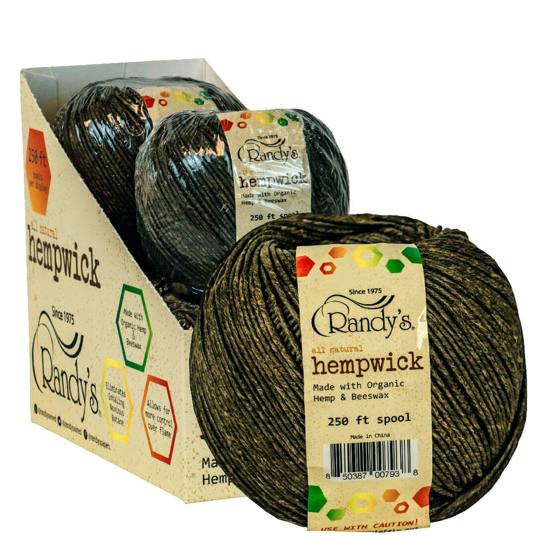 Randy's Large 250' Spool of Hemp Wick