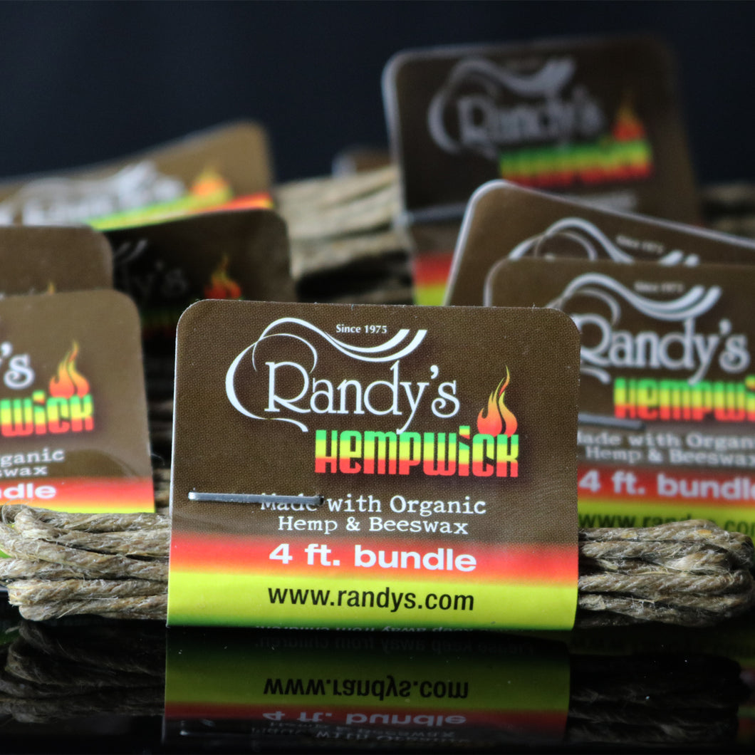 Randy's Small 4' Bundle of Hemp Wick