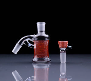 J-Honey Glassworks 14mm Reticello Ash Catcher Set