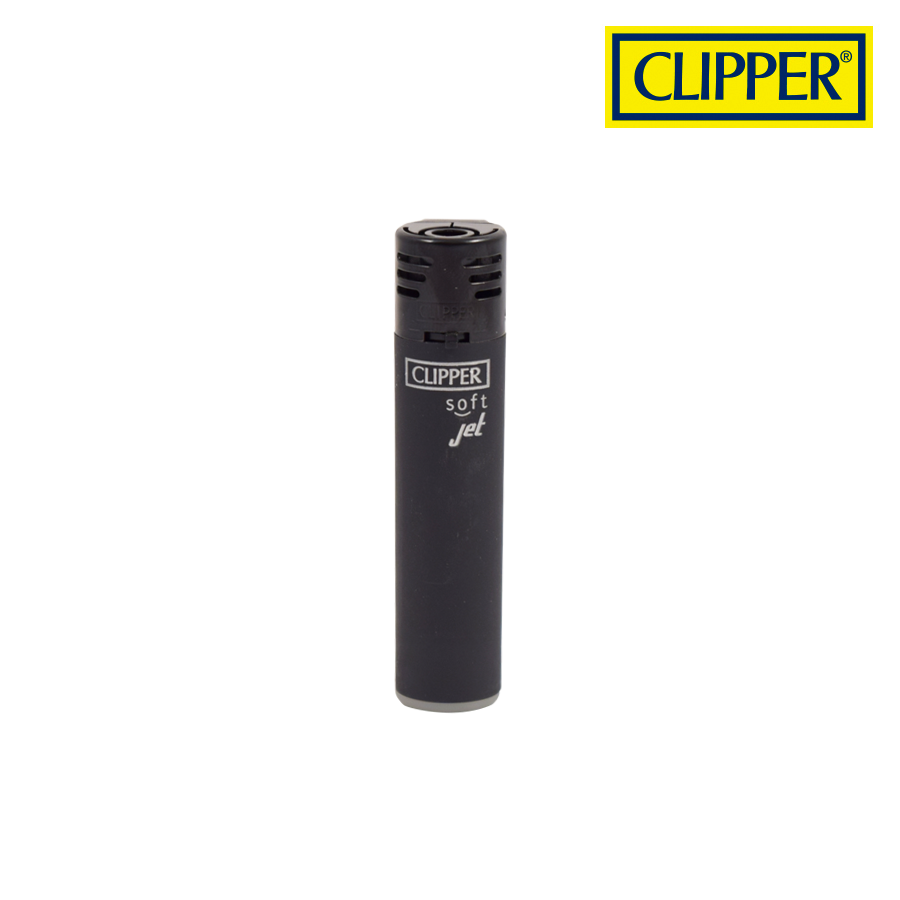CLIPPER PLASTIC JET FLAME BLACK LIGHTERS COLLECTION
