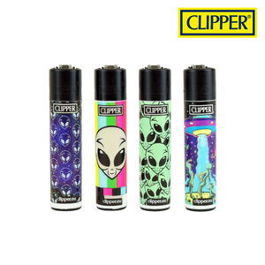 CLIPPER PSYCHEDELIC 8 LIGHTERS COLLECTION