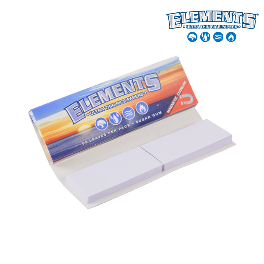 Elements Connoisseur Ultimate Thin Rice Rolling Papers