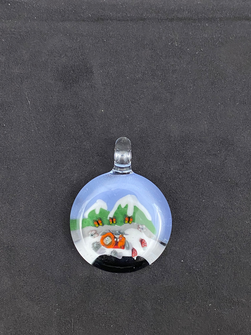 Tombstoned Glass South Park Pendant