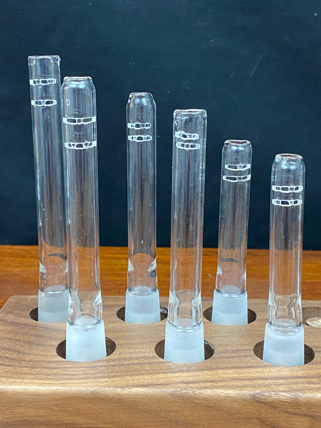 Mctrivish Glass Downstems with Slits