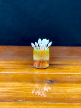 Gump Glass Qtip Jar