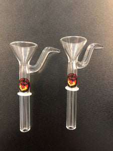 Red Eye Glass Clear 9mm Cone Pull-Out