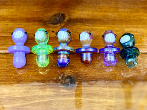 Kahuna Glass Scalien Spinner Caps