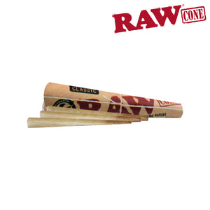 RAW PRE-ROLLED CONE King Size – 3/PACK