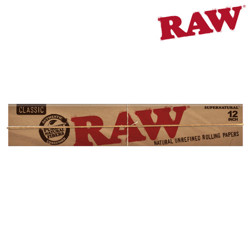 RAW HUGE 12 INCH SUPERNATURAL ROLLING PAPERS