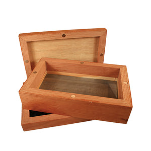 SIFTER MAGNETIC WOOD BOX