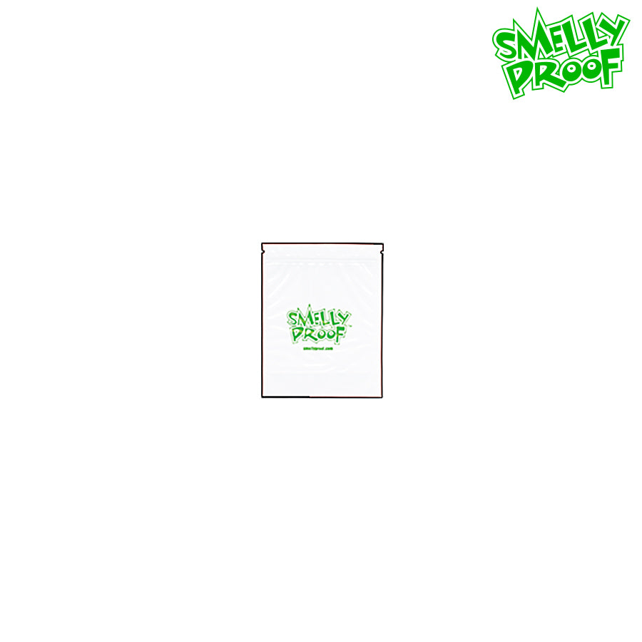 SMELLY PROOF STORAGE BAGS (CLEAR) – X-SMALL