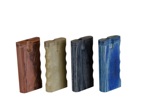 Large Wooden Dugout Assorted Colours