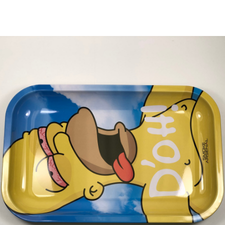 D'OH Smoke Arsenal Metal Rolling Tray
