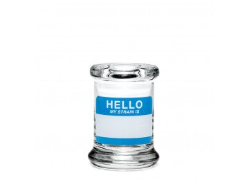 Pop Top Jar - Hello Write & Erase