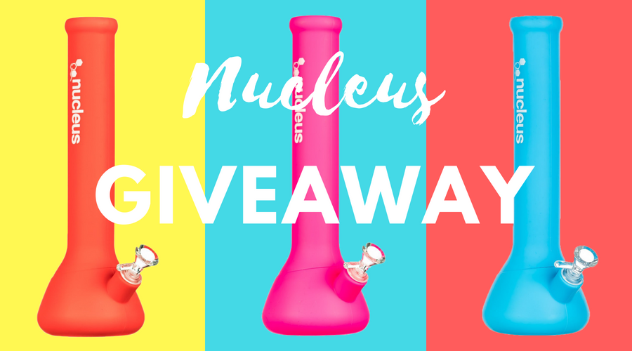 Giveaway: Nucleus Silicone Beaker Bong