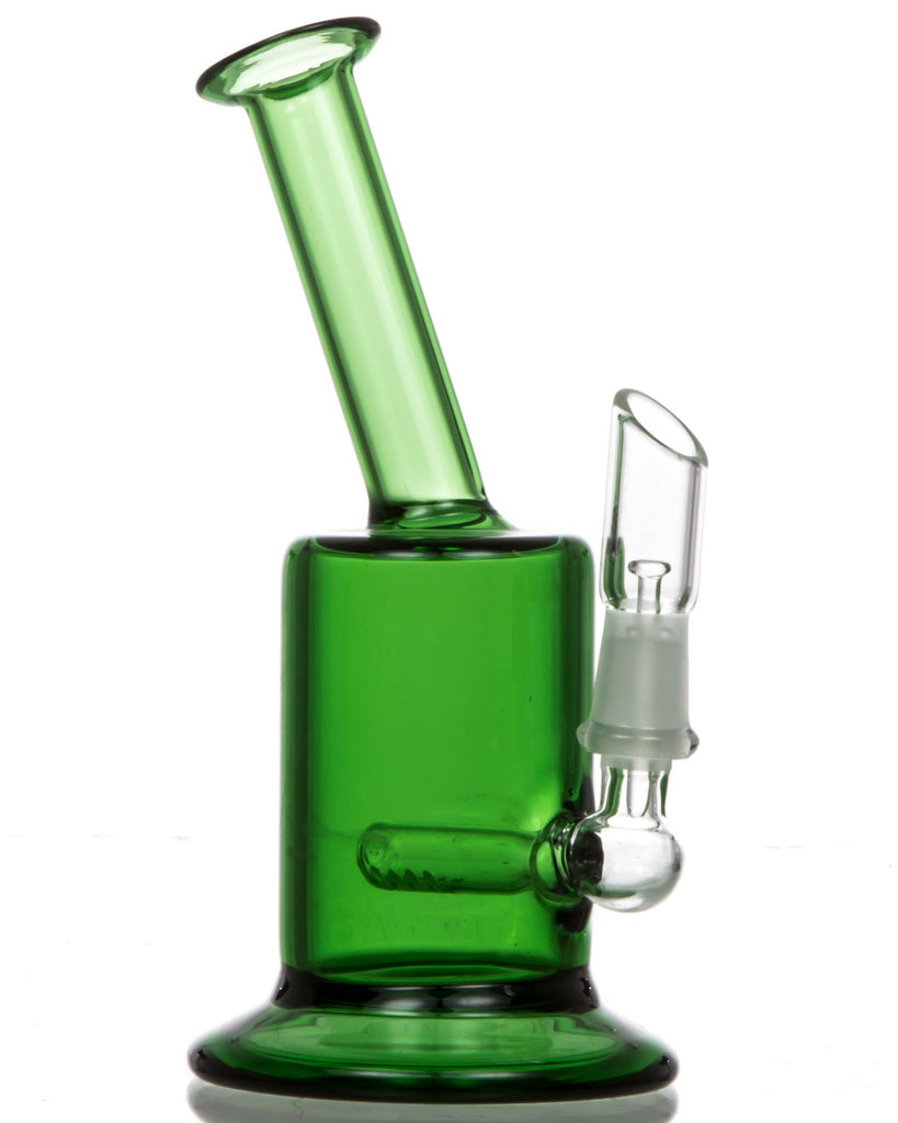 green oil rig with inline perc