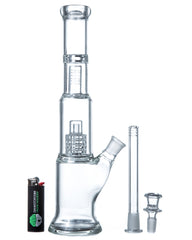 "DankStop - 13"" Matrix Barrel Perc Bong"