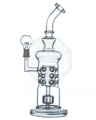 DankStop - Barrel to Natural Swiss Perc Water Pipe