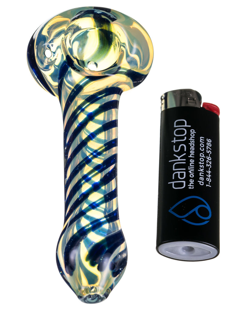 Fumed Glass Hand Pipe