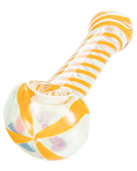 Orange Swirled Hand Pipe
