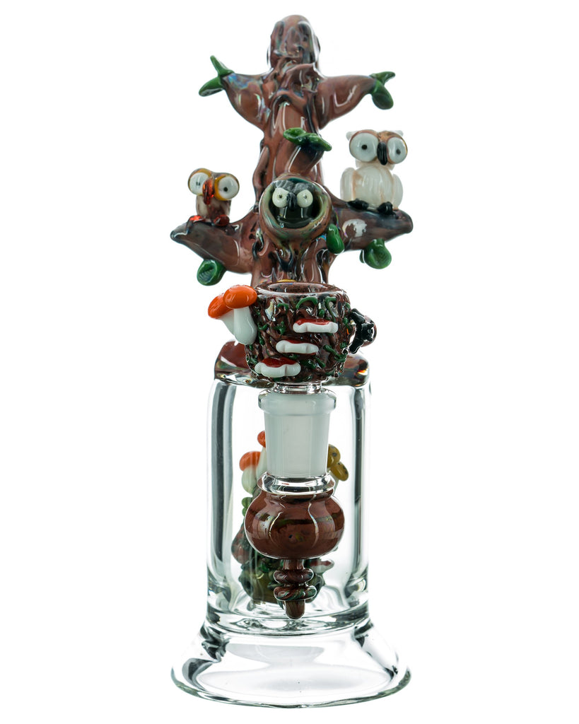 Empire Glassworks Hootie and Friends Tree Bong