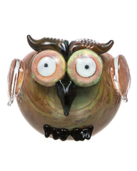 Empire Glassworks - Owl Themed Mini Spoon Pipe