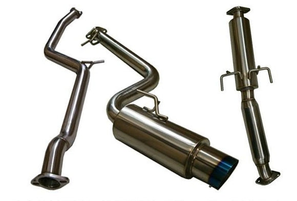 Tsudo 2011-14 Scion tC S2 JDM Catback Titanium Burnt Tip Exhaust - CNT Racing