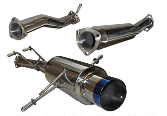 Tsudo 98-05 Impreza 2.5 RS N1 JDM Burnt-Tip catback exhaust - CNT Racing