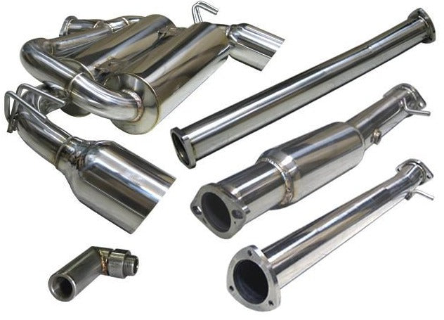 Tsudo Mitsubishi Evolution X  08-14 Test pipe back Exhaust System - CNT Racing