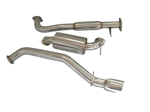 CNT RACING 07-09 Mazdaspeed 3 catback Exhaust (76mm piping) (stainless tips) - CNT Racing