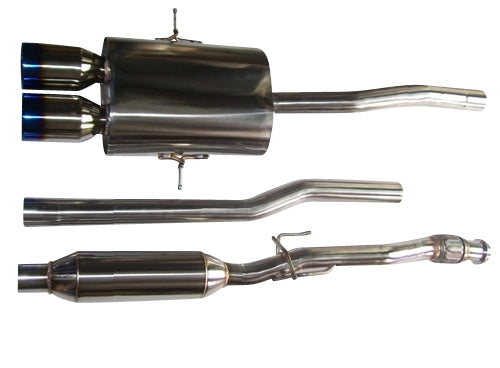 CNT Racing Version 2 07-13 R56 R58 S Catback Exhaust system (Blue Tips) (turbo models) - CNT Racing