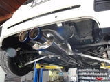 CNT Racing Version 2 07-12 R56 R58 S Catback Exhaust system (Blue Tips) (turbo models) - CNT Racing